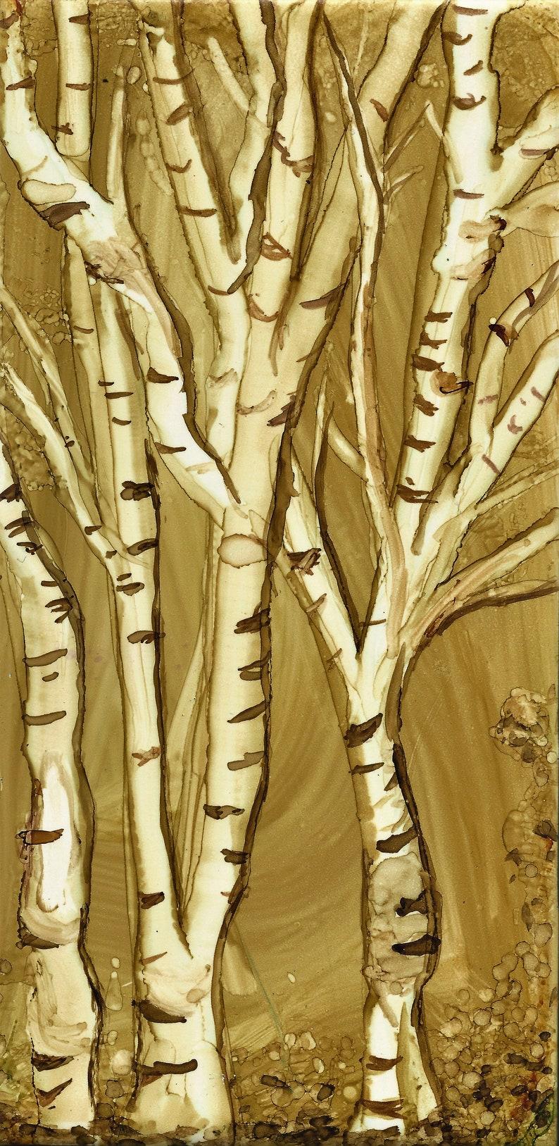 Birch Tree in Winter image 0