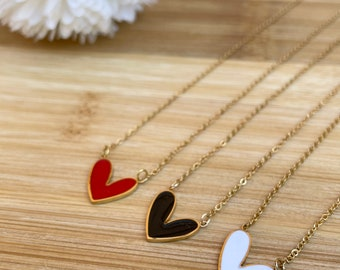 Darling gold stainless steel necklace