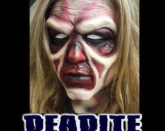 """Full Face Latex Prosthetic """"DEADITE"""" created by DRK Studios. Inspired by Evil Dead"""