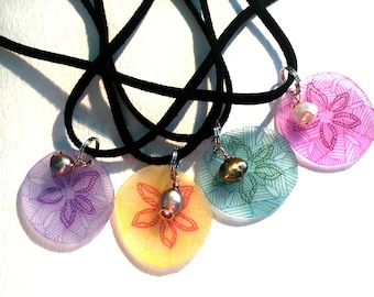 Sand Dollar Necklaces