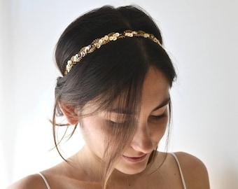 Coiffure de mariage avec headband