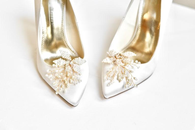 Schuhclips Hochzeitsschuhe, Brautschuhe Clips