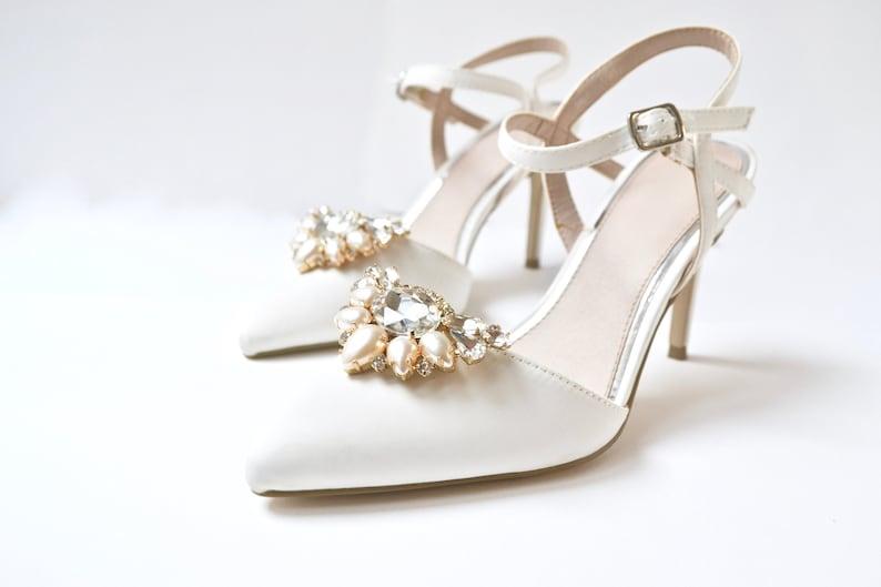 Schuhclips Hochzeit