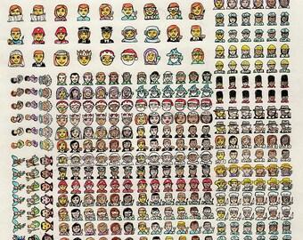 Original Art: Emojis #3