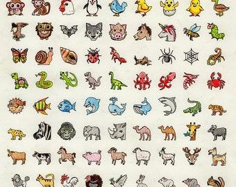 Original Art: Emojis #5