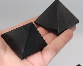 Black Tourmaline Pyramid