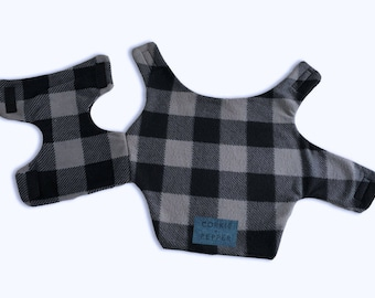Corkie and Pepper Fleece Pet Coat
