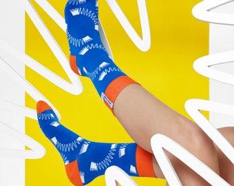 LØVE + FUN Socks First Season - Typography