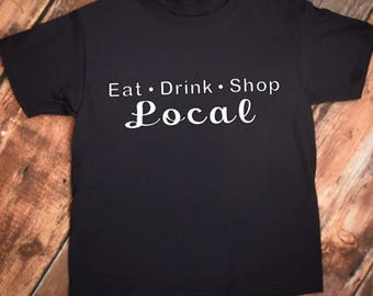 6471e30085c9c Eat drink shop local | Etsy