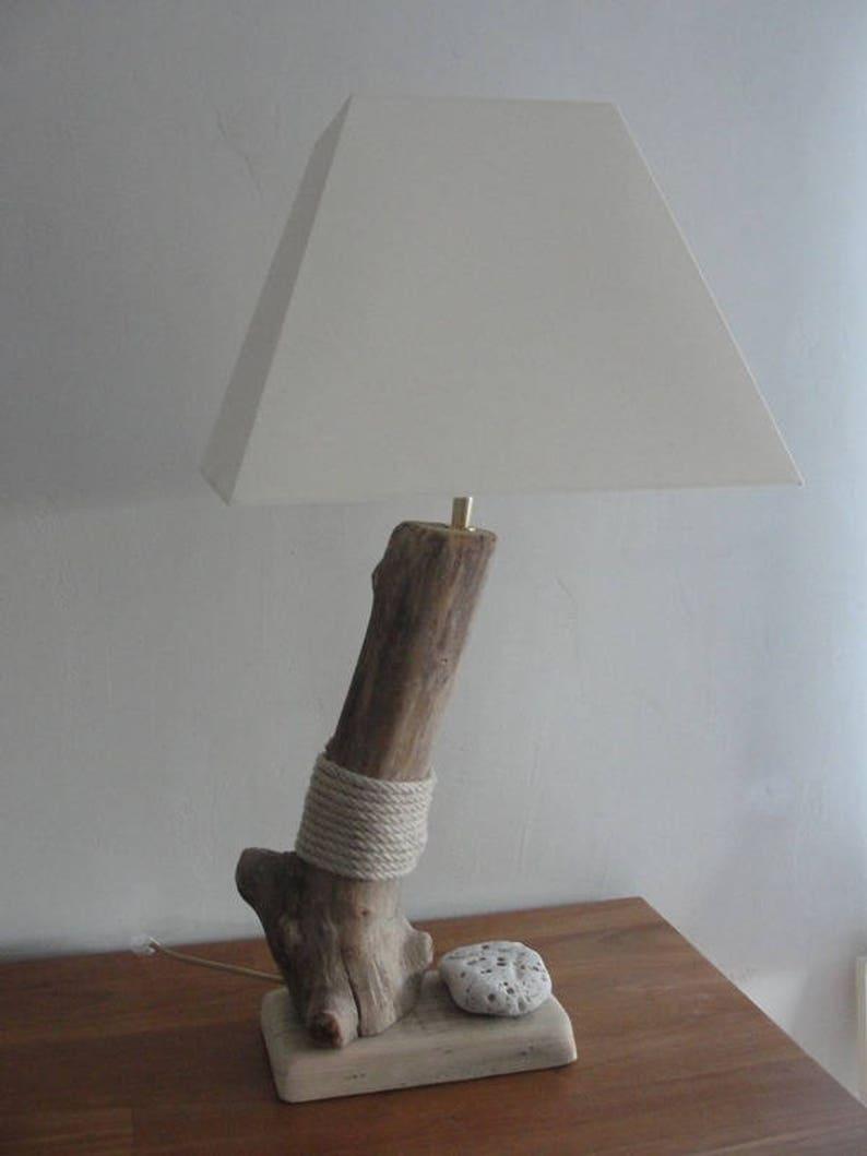 Couleursetsy Corde En Bois Épuré De Pied Lampe Flotté 8nko0pw Design Et SVpqUzM