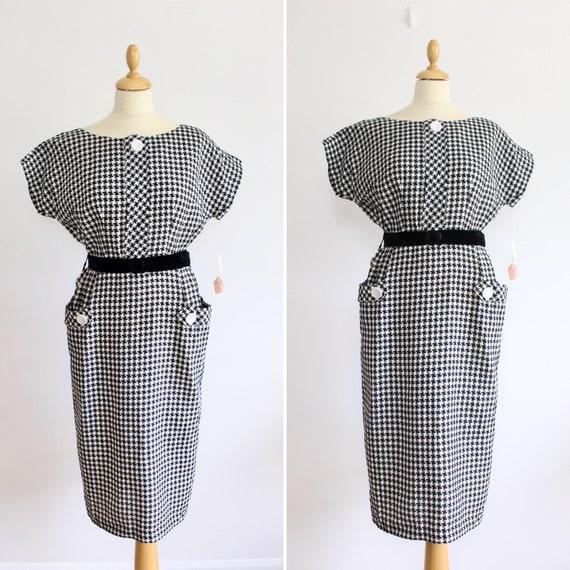 1950s Gingham Dress * 1950s Vintage Original Day D