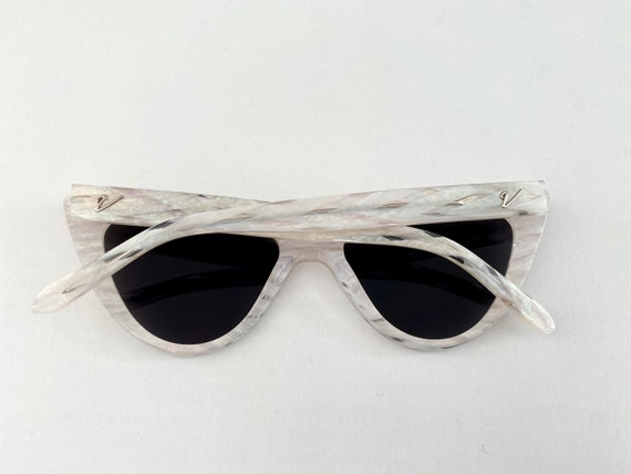 1950s Style Lucite Pearl Sunglassess * 1950s Vint… - image 2
