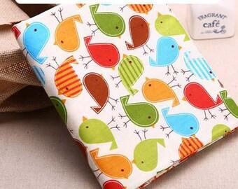 1 x coupon 50x160cm patchwork bird 10 sewing fabric