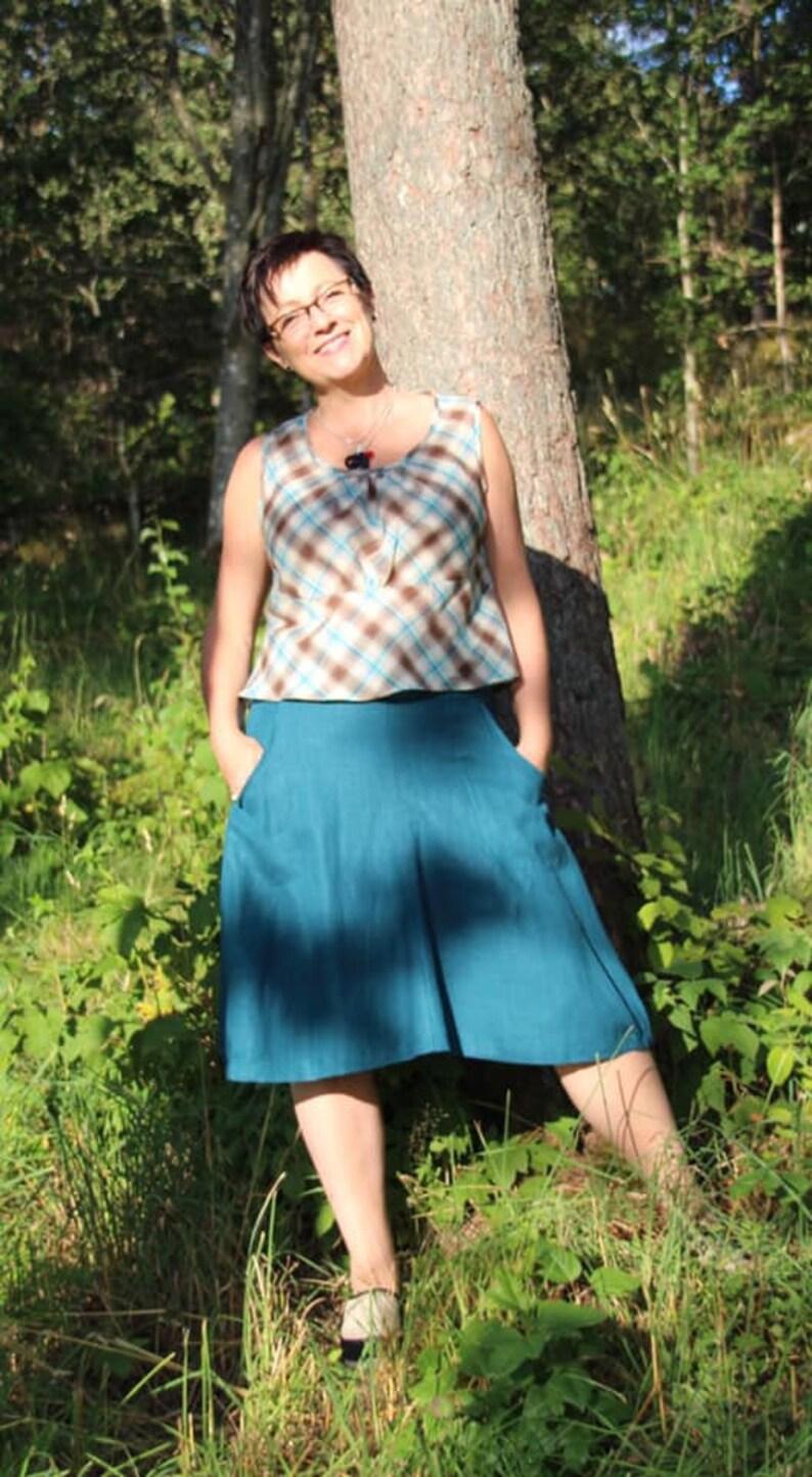 Tunika/Linne Lisa Paper Pattern Ladieswear Pappersmönster image 0