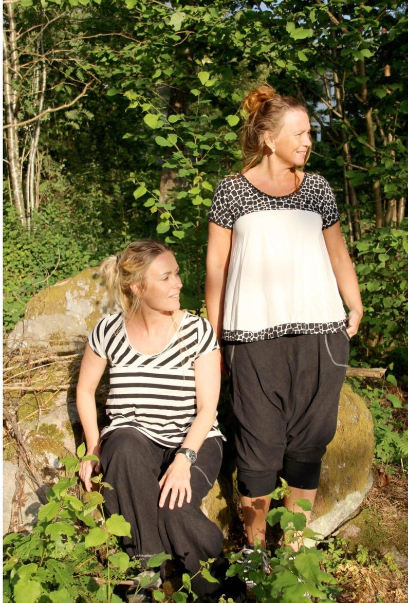 Blus/Jumper Lill Paper Pattern Ladieswear Pappersmönster image 0
