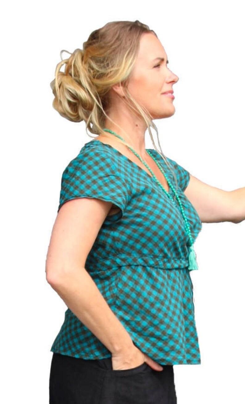 Blus/Linne Bodil Paper Pattern Ladieswear Pappersmönster image 0