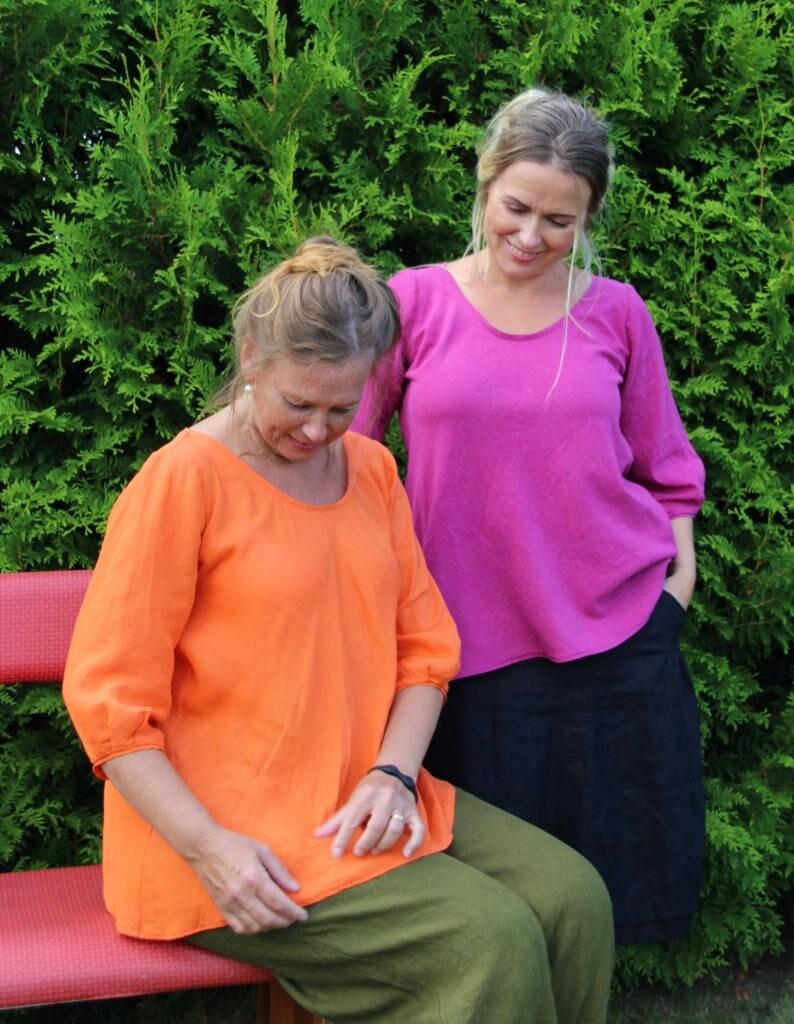 Blus Lia Paper Pattern Ladieswear Pappersmönster Damkläder image 0