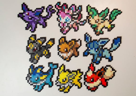 Items Similar To Evoli Evolutions Pokemon Sprites Pixel