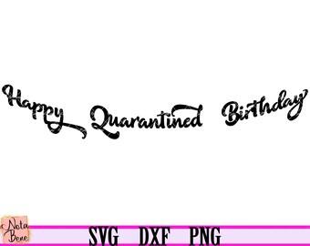 Bunting Banner Svg Cut Files Vector Clipart Birthday Banner Etsy