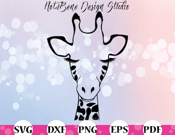 Giraffe Svg Giraffe Face Kids Cute Giraffe Clipart Svg Cute Etsy