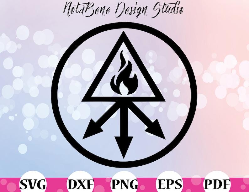 Speculum Veritatis Symbol Sign SVG Red King Alchemy Occult Esoteric Symbols  Alchemy Symbols Sulphur Red King The Unholy Trinity
