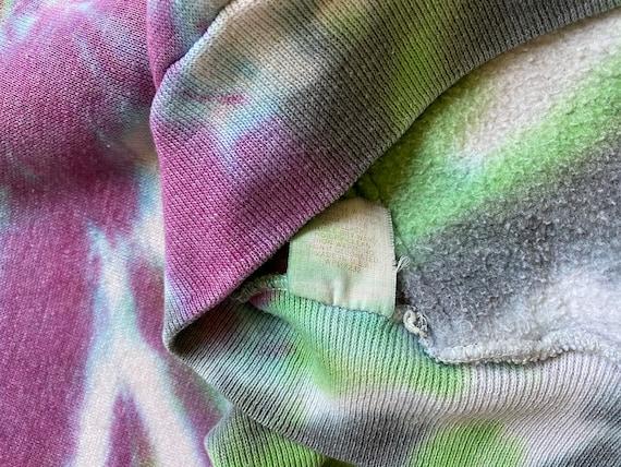 70s 80s UW Huskies Tie Dye True Vintage Russel At… - image 9