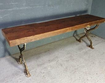 Juego de 4 Ruedas De Hierro Fundido 65 mm Rueda de Ricino Fijo de muebles vintage industrial