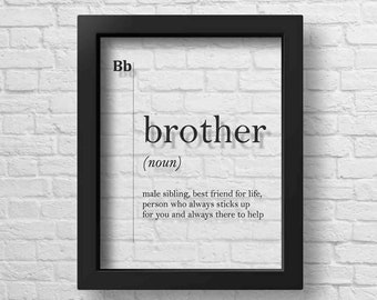 Brother gift ideas | Etsy