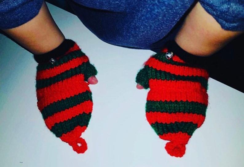 Winter Gloves Child Fingerless Mitts