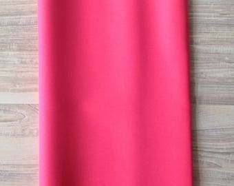 Pink waterproof fabric