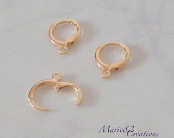 Creole Earrings - Gold Plated / Copper 18K