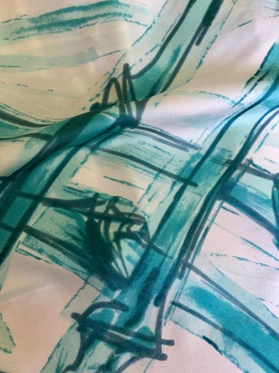 Norman Hartnell Silk Scarf. - image 6