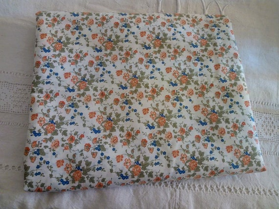 Length 50 cm blue and red tones Pepper J Liberty cotton fabric