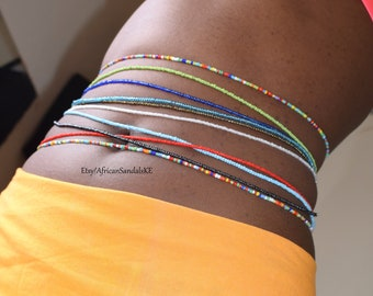 WAIST BEADS, African Waist Beads, African Jewelry, Belly Beads, Belly Chains, African Clothing For Women, Africa Jewelry, African