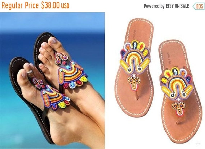 b6f8a4b47 ON SALE AFRICAN Sandals Greek Sandals Leather Sandals