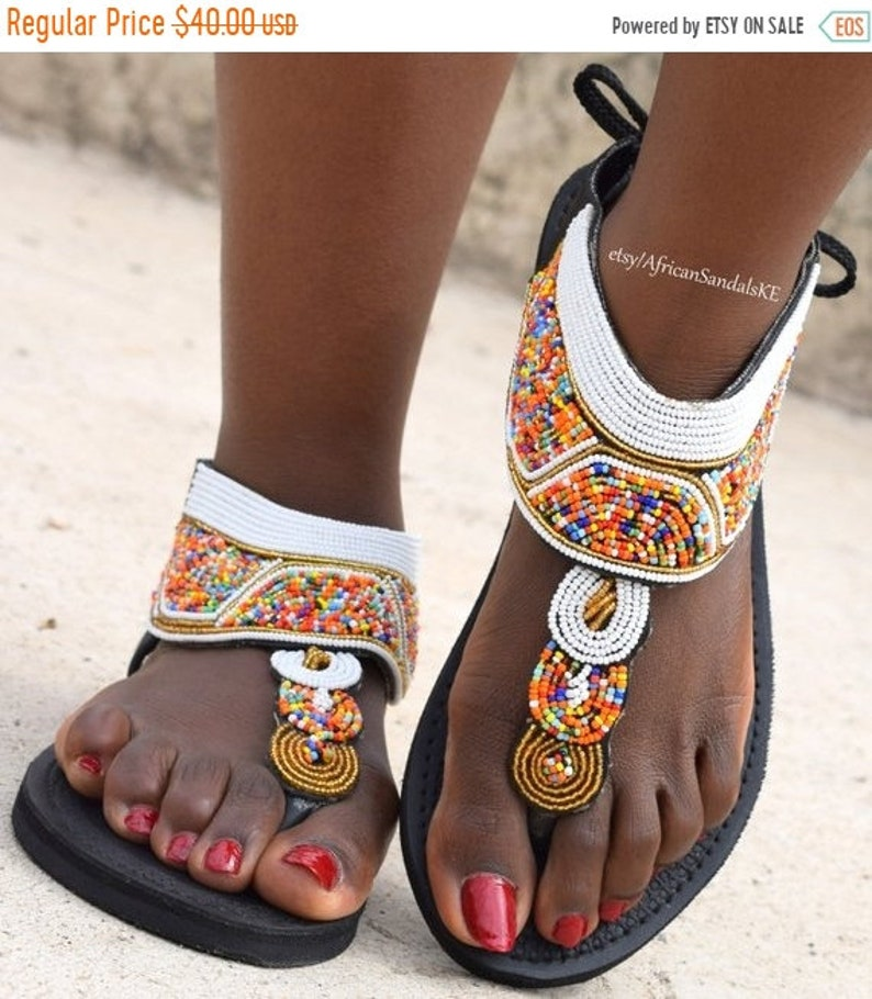 a590cbe0308f ON SALE LEATHER Sandals African Sandals Greek Sandals Women