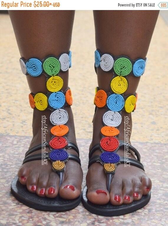 SUR vente africain sandales, sandales gladiateur, femmes en cuir sandales, sandales en cuir, sandales, sandales grecques, africain vetements pour femmes
