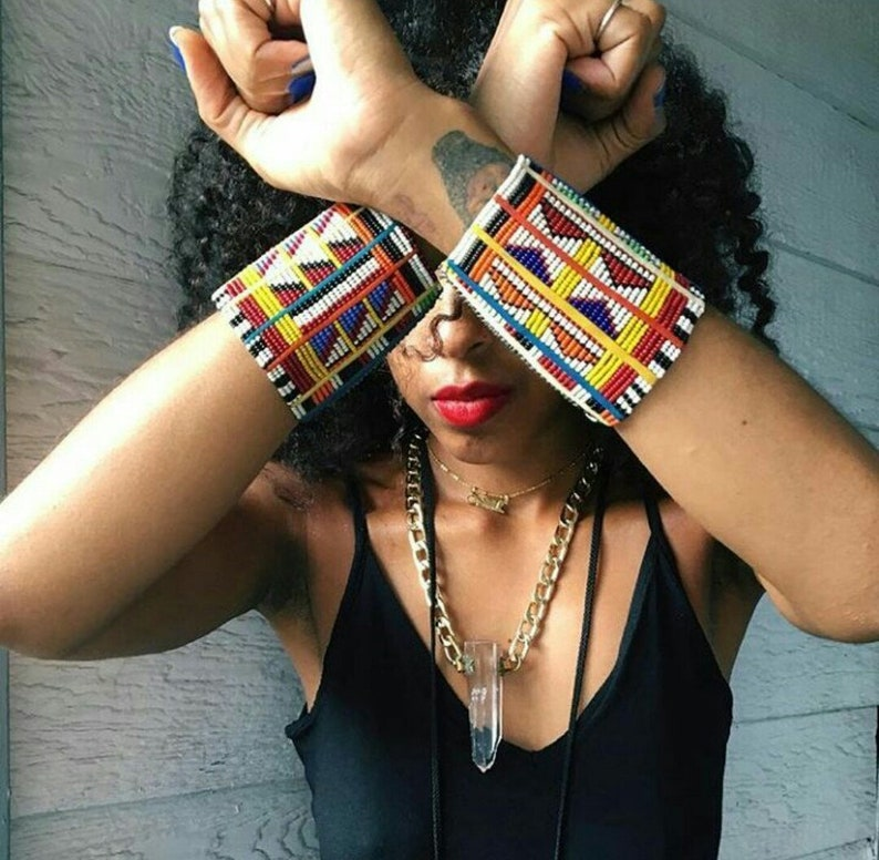 Bracele Statement Necklace African Necklace African Jewelry African Clothing For Women ON SALE Set of African Jewelry African Earrings