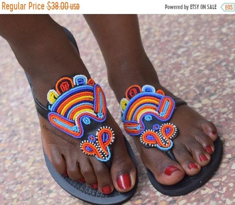 36dd5e9ef ON SALE LEATHER Sandals African Sandals Greek Sandals
