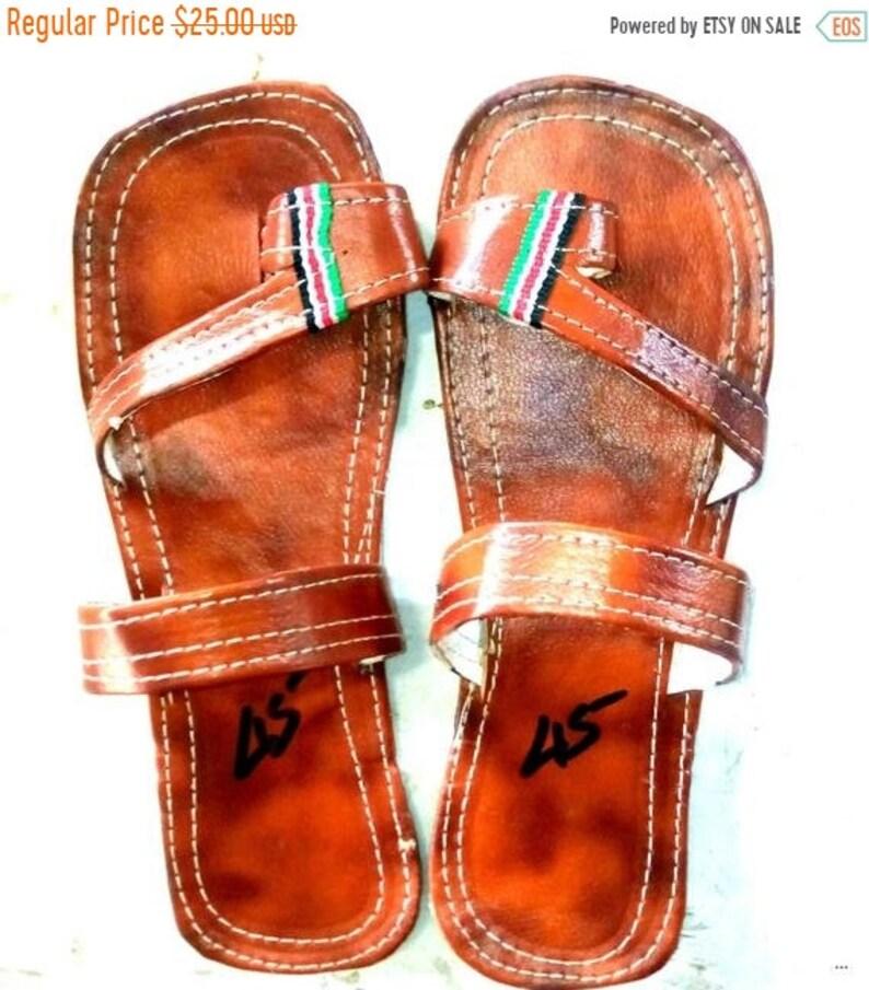 f23ce48d8945 ON SALE GREEK Sandals Leather Sandals Men Shoes Men