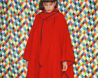 Vintage 60's Wool Cape