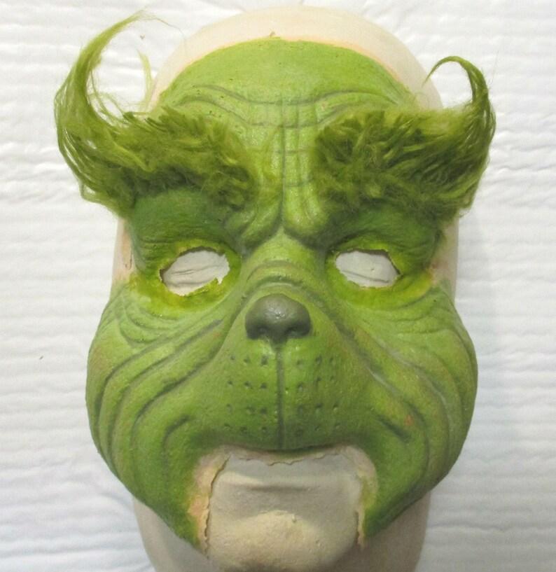 Grinch Whoville Mousse Latex Prothèse Masque de maquillage de Noel