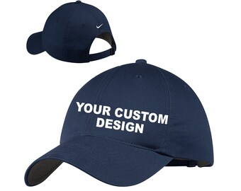 8433113c32e Nike Unstructured Twill Cap   Custom Adjustable Dad Hat   Mid Profile Cap    Your Custom Apparel   Bachelor Party Hats   Embroidered Nike Cap