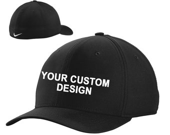 9b310af9a81 Nike Dri-FIT Classic Cap   Custom Embroidered Hat   Nike Baseball Hat    Performance Dri-FIT   Your Custom Apparel   Golf Hats   Swoosh Cap