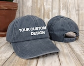 Custom Washed Dad Cap Anvil Low Profile Hats Embroidered Dad Hat Unstructured Gym Cap Bachelorette Party Hats