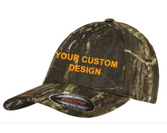 Personalized Camo Hat Flexfit   Customized Dad Cap   Camouflage Flex Fit    Embroidered Dad Hat   Custom Embroidery   Your Custom Apparel c48f2f76bf3