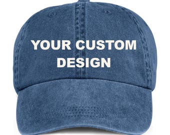 9bee56ba8bc Custom Washed Dad Cap   Anvil Low Profile Hat   Bachelorette Party Hats    Embroidered Dad Hat   Unstructured Gym Hat   Vintage Pigment Dyed