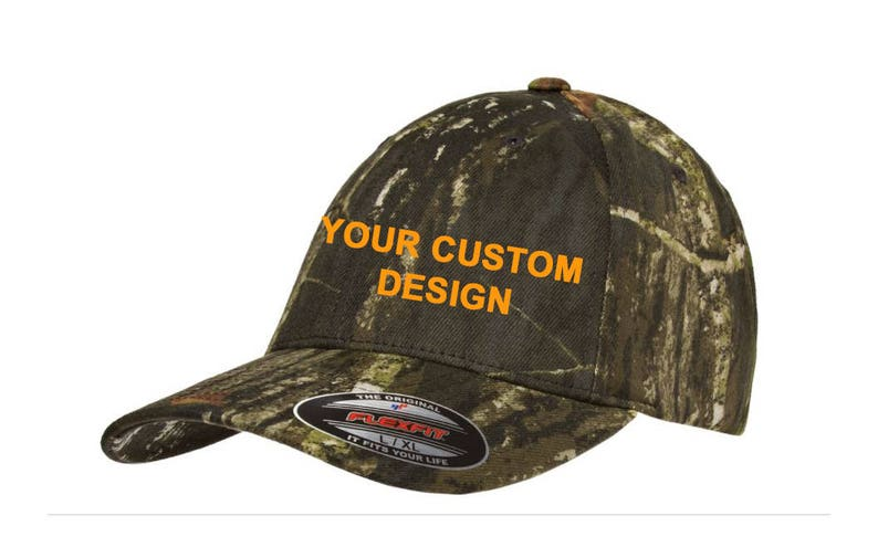 fb8a8145c28c6 Personalized Camo Hat Flexfit / Customized Dad Cap / Camouflage Flex Fit /  Embroidered Dad Hat / Custom Embroidery / Your Custom Apparel