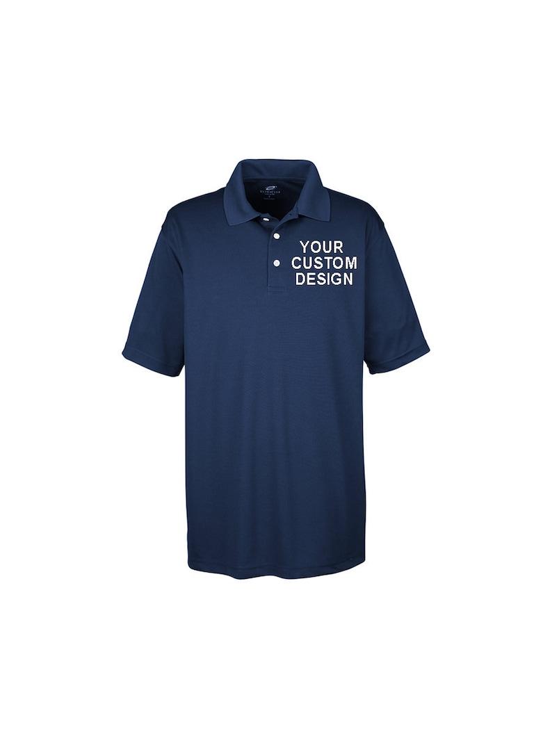 62c0d43e Custom Embroidered Polo / Company Shirts / Monogrammed Polo   Etsy