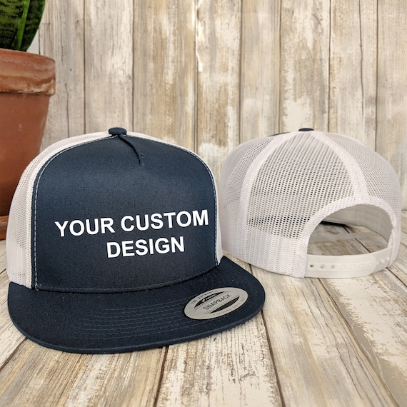 Custom 5 Panel Trucker Snapback / Yupoong Mesh Snap Back / Bachelorette  Party Hats / Your Custom Apparel / Trucker Cap / Structured 5-Panel